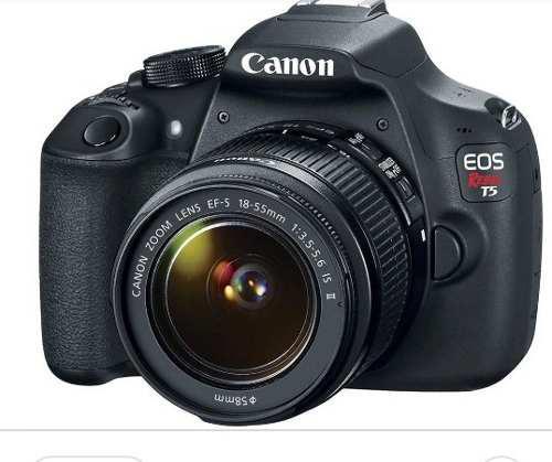 Camara Reflex Canon T5 Más Intervalometro