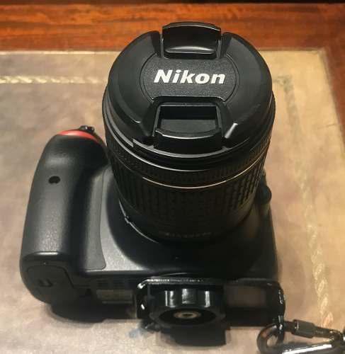 Camara Reflex Nikon D3300 Lente Nikkor Dx Vr 18-55 Impecable