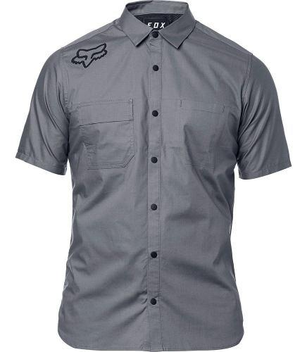 Camisa ciclismo trabajo fox redplate flexair work shirt bora
