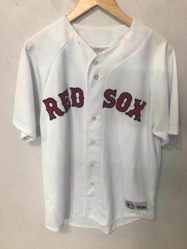 Camiseta De Béisbol Red Sox - Talle L - Blanco