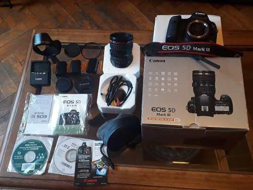Canon 5d Mark Iii + Lente Canon 24-105mm