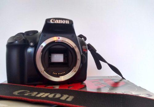 Cámara Canon Eos Rebel T3 + Dos Lentes + Accesorios