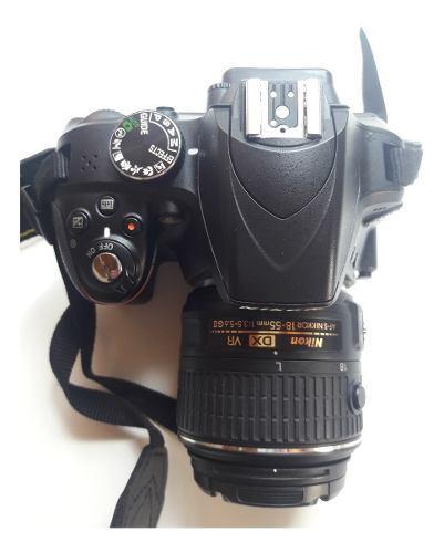 Cámara Nikon D3300 + Lente + Bolso + Cargador. Excelente!
