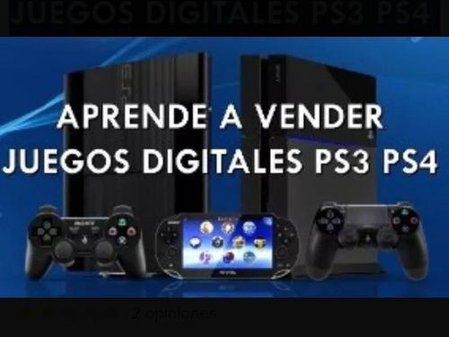 Cómo vender juegos digitales de ps3- ps4- xbox one? 2020