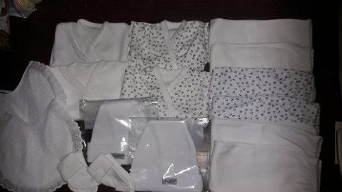 Combo prendas de bebé- ajuar nacimiento 16 prendas