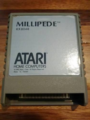 Millipede,juego para atari 8 bits xe 400 600 800 xl