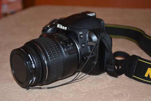 Nikon D3100 Con Lente 18-55 C/ Bolso. Muy Buen Estado