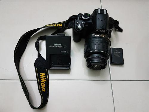 Nikon D3100 + Lente 18-55 + Lente Ojo De Pez + Bolso