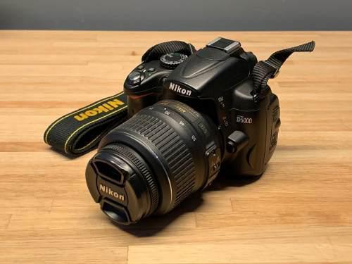 Nikon D5000 Como Nueva! Incluye Lente Nikon 18-55
