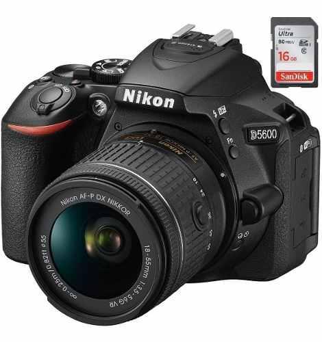 Nikon D5600 Con Lente 18-55vr + 16gb