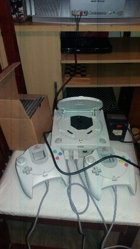 Sega dreamcast+2 joysticks+6juegos originales