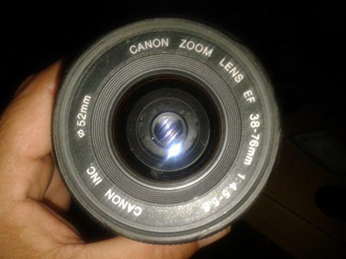 Teleobjetivo Canon Ef 38/76 Para Camara Reflex,