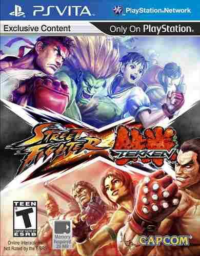 Street fighter x tekken juego ps vita