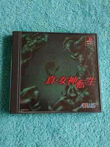 Juegos Ps1 Shin Megami Tensei 1 Original [Ntsc-j] + Carta