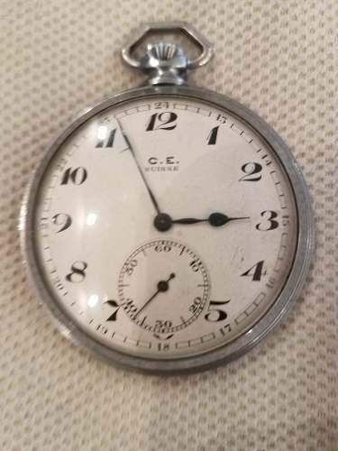 Reloj bolsillo antiguo funcionando