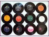 Discos vinilo simples 12 unidades - en lote o por unidad