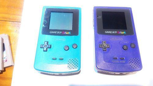 1 Game Boy Color + 1 Juego - Mp - Envios - Canje. Precio C/u