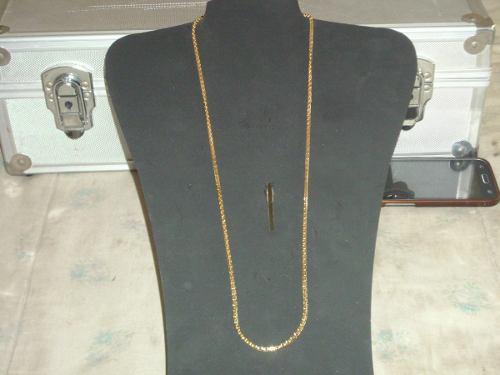 Antigua cadena xxl metal dorado color oro s/uso cº lima9