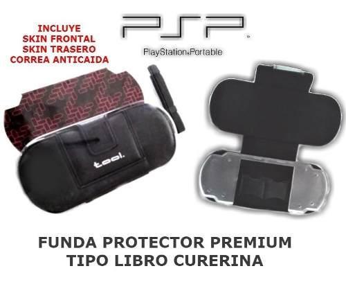 Funda Tipo Libro Premium Psp Slim 2000 3000 + Accesorios