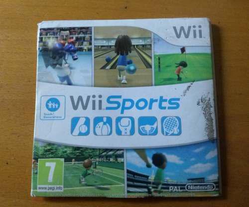 Juego original wii 5 juegos en un solo cd