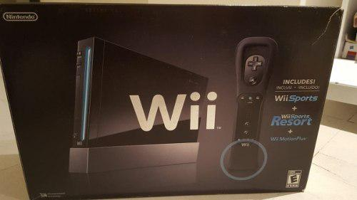 Nintendo wii consola + 8 juegos + accesorios
