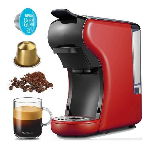 Cafetera 3 En 1 Espresso Nespresso Dolce Gusto Molido Saquit
