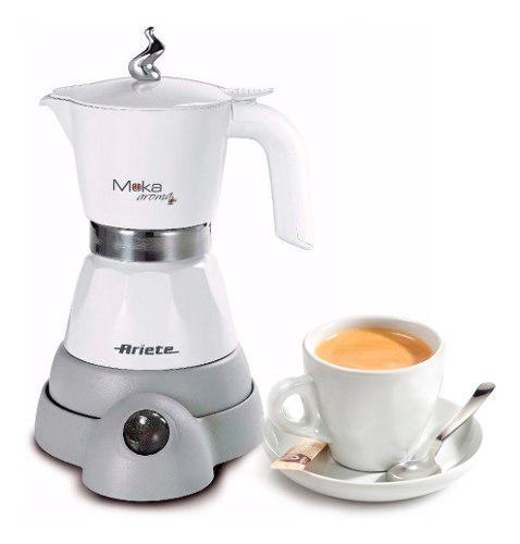 Cafetera Electrica Ariete Moka Aroma 1358 2 4 Tazas
