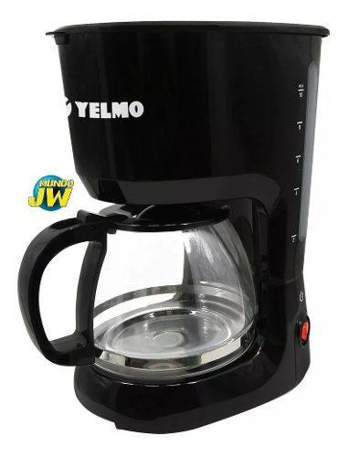 Cafetera Electrica Yelmo Ca7108 Negra 800w 12 Pocillos Nueva