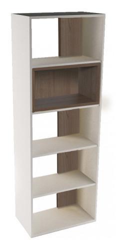 Biblioteca dp185 melamina 18mm estantes resistente oficina