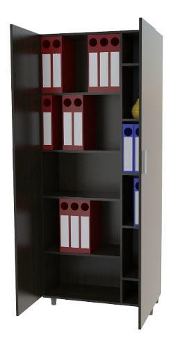Biblioteca modular 9 estantes ciega oficina/hogar melamina