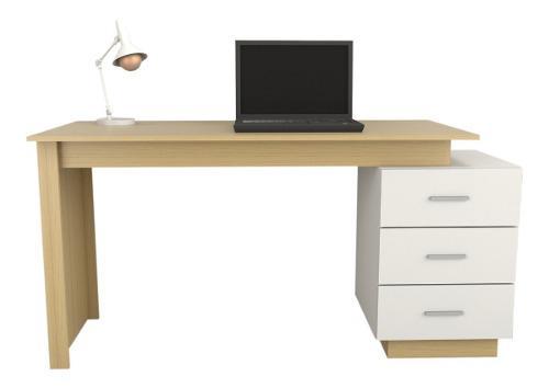 Escritorio mesa de trabajo oficina hogar melamina premium pc