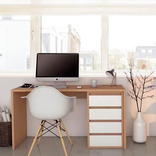 Escritorio oficina hogar moderno minimalista 6 cts s/interes