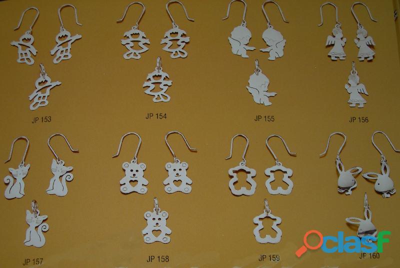 Aretes de plata peruana original a 1.06 us x gramo mayor y menoryo