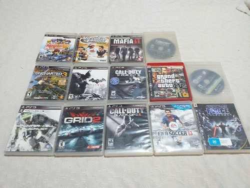 Lote de juegos ps3