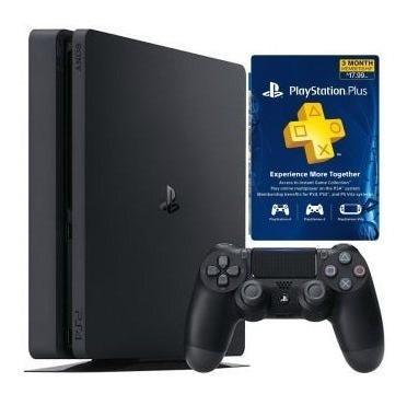 Ps4 slim 1tb + ps plus consola original nueva