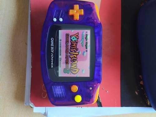 Gba - gameboy advance retroiluminada