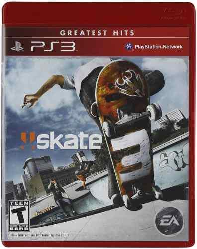 Skate 3 ps3 juego nuevo cd original fisico sellado en stock