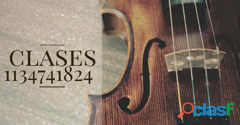 Clases de violín floresta