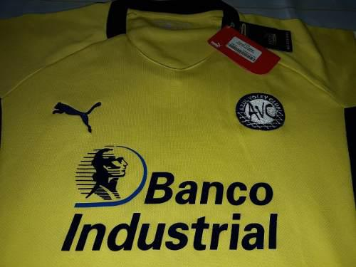 Camiseta azul voley puma original banco industrial