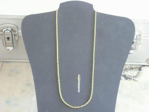 Antigua cadena dorada de bronce sin uso japon retro cº