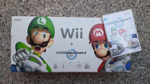 Nintendo wii + accesorios + juegos