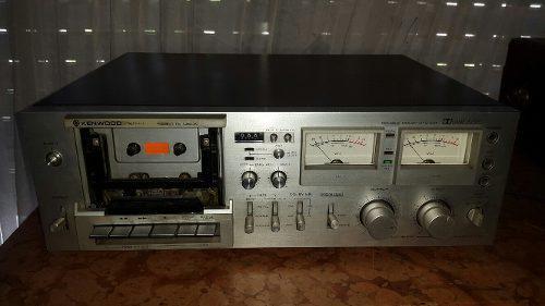 Deck casettera kenwood kx-1060 gama alta funcionando