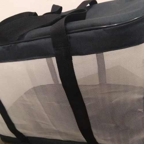 Fabricacion bolsos p/mascotas, medida q necesite. 50x30x35