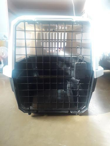 Jaula, contenedor, kennel perros mediano rigido aprob iata