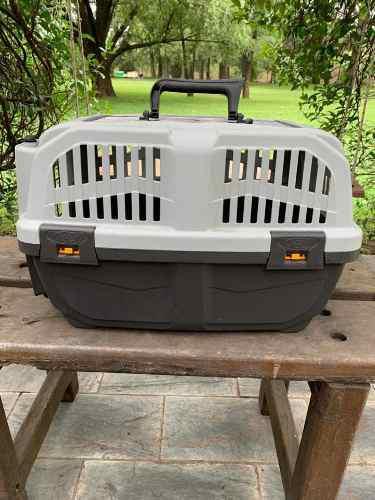 Jaula para transporte de mascotas marca mps
