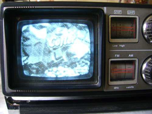 Tv radio cassette sharp tri-mate 3t-59 boombox - no envío