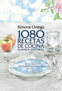 1080 Recetas De Cocina - Ortega,simone (libro)