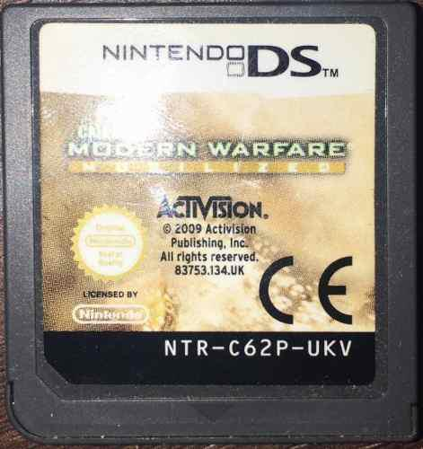 Call of duty modern warfare mobilized - nintendo ds
