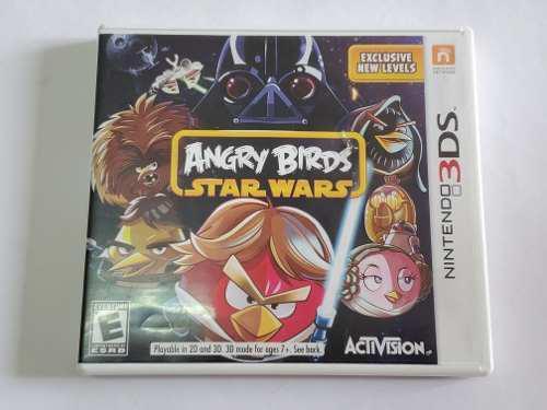 Juego nintendo 3ds angry birds star wars original fisico