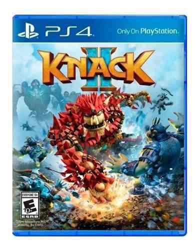 Knack 2 ps4 juego nuevo cd original fisico sellado
